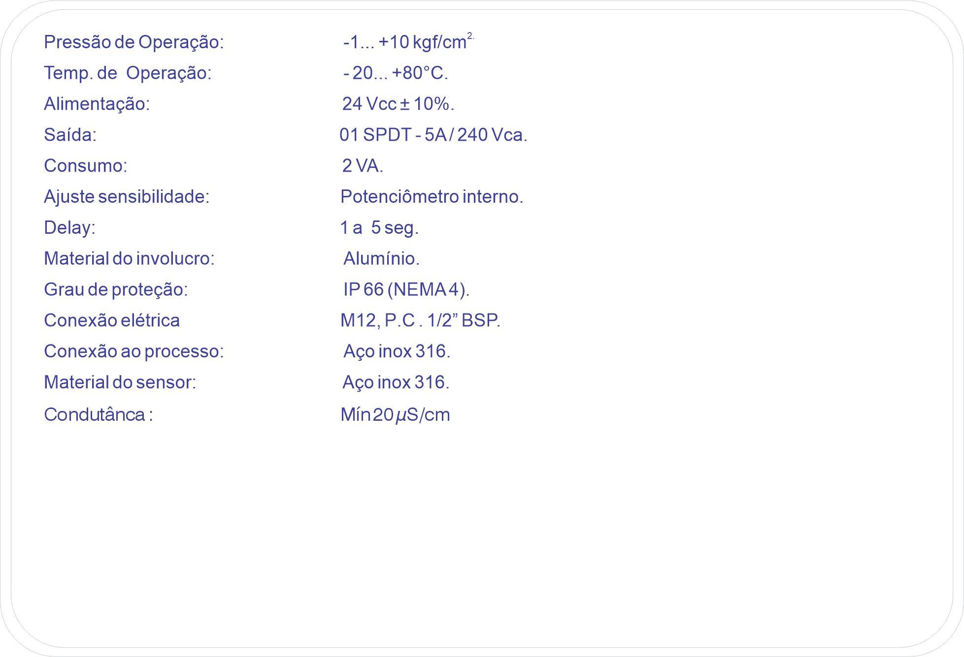 Características Ténicas F500-CND