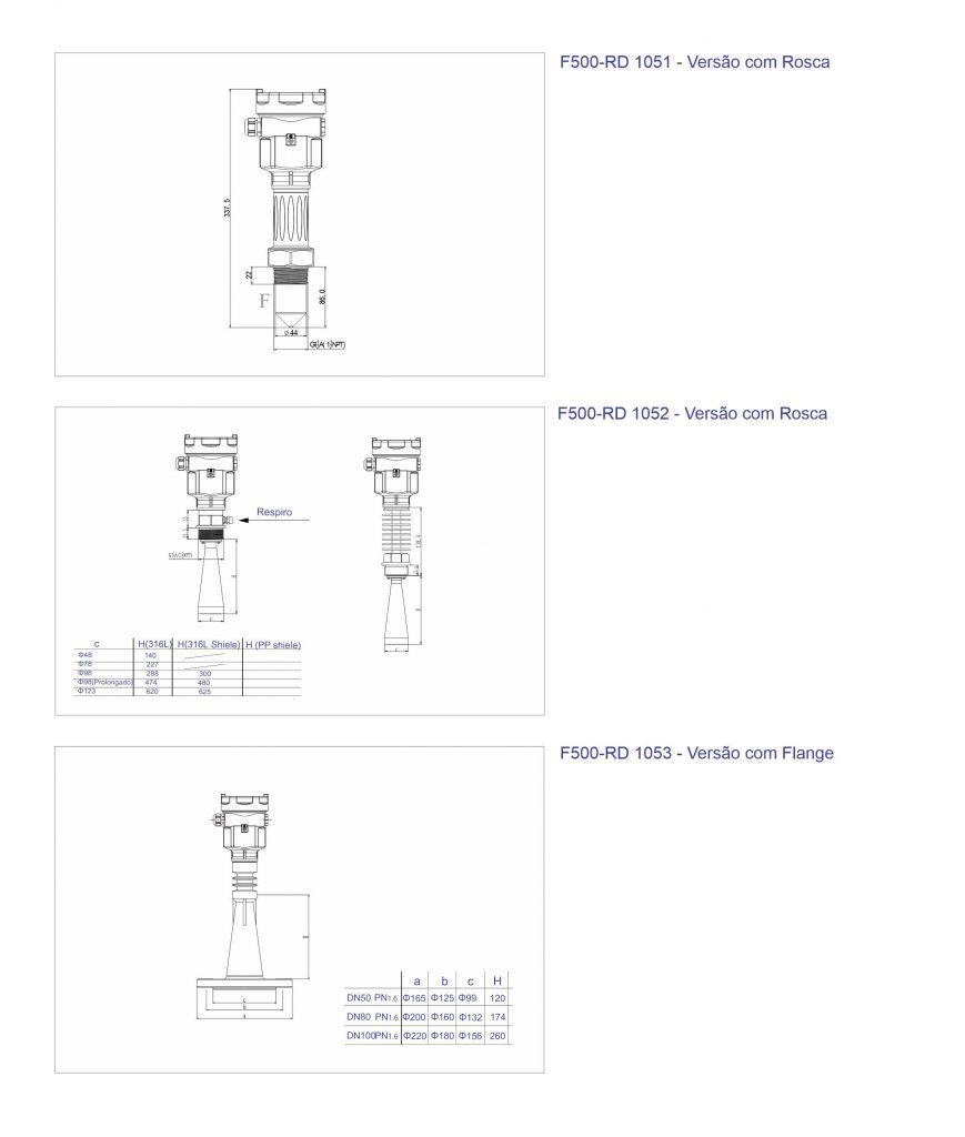 Dimensional F500-RD