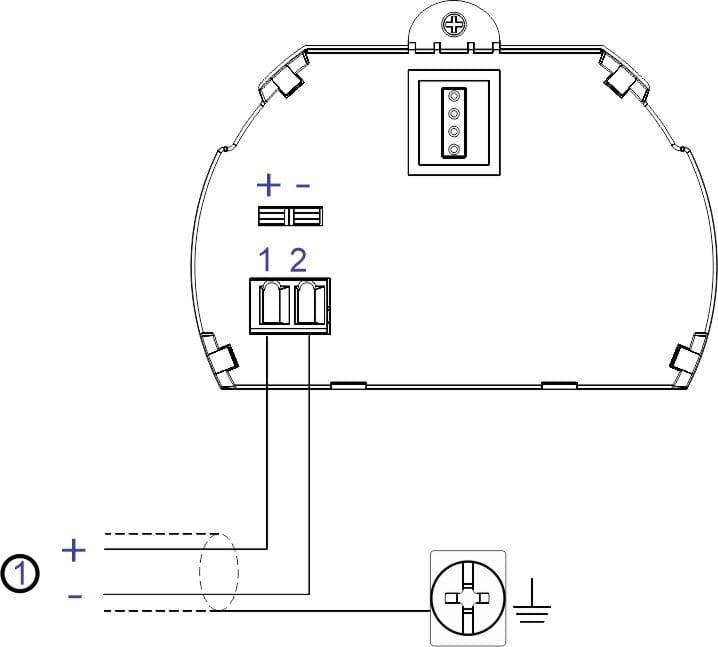 Esquema de Ligação 02 Fios F500-ULT